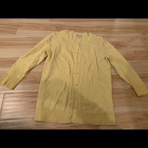 Merona Yellow Cardigan!